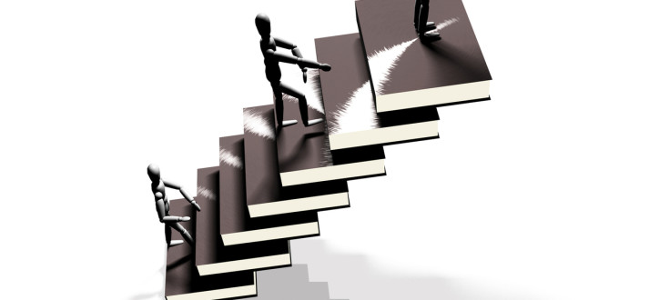 learn to climb up the career ladder again